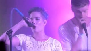 Halsey with Lido - Slow LIVE HD (2015) Badlands Record Release Show
