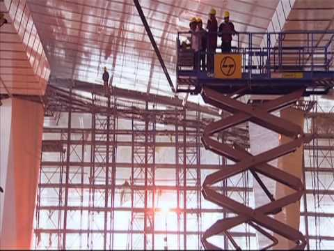 airport - Watch How India's Largest Post Independence Building Was Put Together In Just Thirty Seven Months.