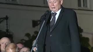 """Prezes Kaczyński: """"To nie my chcemy dzielić Polaków""""."""