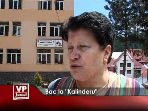 """Bac la """"Kalinderu"""""""