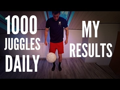 1,000 Juggles Every Day For 3 Months | My Results