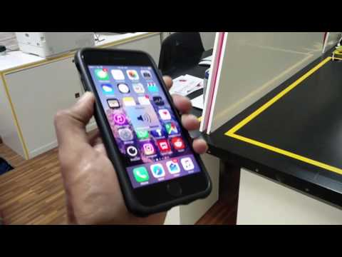 Mous Limitless Kevlar case for iPhone 6/6S/7 quick look (видео)