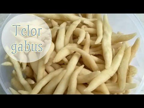 TELOR GABUS ( tepung tapioka & telur ) 2 bahan utama sudah bisa buat telor gabus