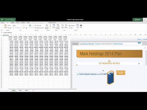 Tidemark Launches Excel App for Microsoft Office