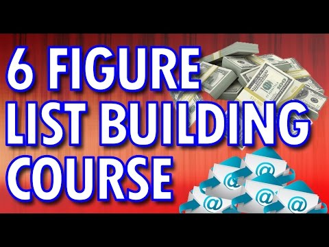 List Building Tutorial – How To Build A Big List Step By Step Training