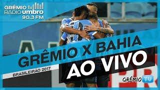 Confira AO VIVO a transmissão de gremista para gremista da Grêmio Rádio Umbro da partida entre Grêmio e Bahia na Arena,...