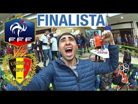 FRANCIA VS BÉLGICA 1-0 FRANCIA A LA FINAL DEL MUNDIAL RUSIA 2018 #ReactionChallenge LA MEJOR CRÓNICA
