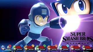 Super Smash Bros Ultimate 8 Player Final Smash Mega Man