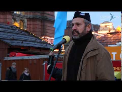 Bremen 2014: Ostturkistan Demo Bremen 13 12 2014