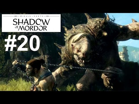 Middle Earth : Shadow Of Mordor (PS4) #20 Hunting Partners Walkthrough Gameplay