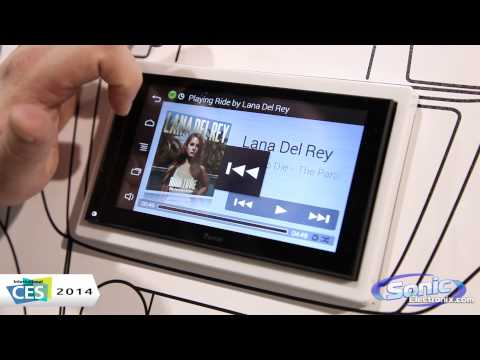 Parrot Asteroid Smart In-Dash Receiver | CES 2014
