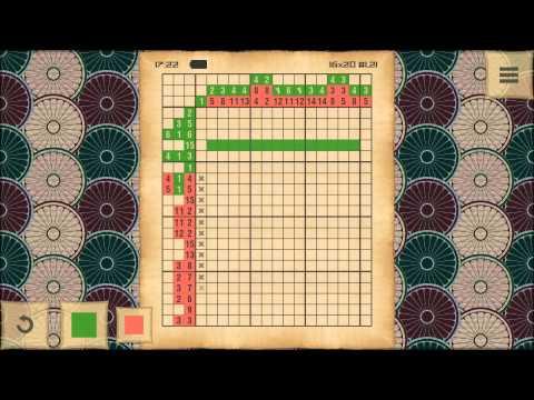 Video of CrossMe Color Nonograms