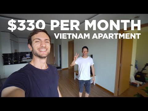 330 USD Ho Chi Minh/Saigon Vietnam Apartment Tour