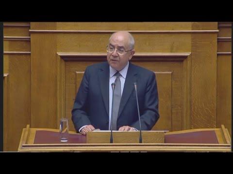 Ομιλία στη Βουλή του Πρόεδρου της Βουλής της Κυπριακής Δημοκρατίας Γ. Ομήρου