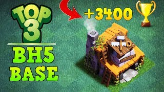 Clash of Clans Best Builder Hall 5 Base (BH5 Base) Anti 3 Star / Anti 2 Star Base [Town Hall 5 (TH5) ] / Trophy Push Base / Trool Bases / Max Base / New Update 2017 Clash of Clans Builder Base Layout / Night Village. Bases done after CoC Versus Battle Update with New Troops and Buildings like Crusher, Multi Mortar, Push Trap, Cannon Cart, Bomber, Battle Machine aka New Hero, Gem Mine, Clock Tower, NEW ROASTER etc.This is the Best BH5 Builder Base 5 2017, Using this base design your base will never get 3 star this is also an Trophy Push Base for Builder Base 5. Trophy over 3000+.Replay shown in video is Battle with all troops, including Raged Barbarian, Sneaky Archer, Boxer Giant, Bomber, Dragon, NIGHT WITCH UPDATEBase 1: 0:10Base 2: 3:34Base 3: 6:43------------------- Thank You for Watching! ------------------➜ FASTEST WAY TO EARN FREE GEMS: http://cashforap.ps/finite➜ Please Like ,Share And Subscribe!!➜ Share: https://youtu.be/f8pJmbWYvLU  ➜ Subscribe: https://goo.gl/AWuJLF ------------------------------------------------------➜ Bringing to you: Clash of Clans [CoC]  Attack Strategies and Raids  War Base layout  Farm Base layout  For Town Hall - TH7 TH8 TH9TH10 AND TH11  For Builder Hall –  BH3 BH4 BH5 BH6 BH7----------------------------------------­­­---------------------------------➜ Best Builder Hall 6 Attack Strategy! BHH6 Base!https://youtu.be/3sXeOKNtm9M ----------------------------------------­­­---------------------------------➜ Builder Hall 6 Base [BH6 Builder Base] Clash of Clanshttps://goo.gl/F5avxW ----------------------------------------­­­---------------------------------➜ How to 3 Star Popular Builder Base 5 [BH5]https://youtu.be/X1P3NHJu_u0----------------------------------------­­­---------------------------------➜ How to 3 Star Popular Builder Base 4 [BH4]https://youtu.be/o-e-yIPfG1U----------------------------------------­­­---------------------------------➜ Builder Hall 5 Base [BH5 Builder Base] Clash of Clanshttps://goo.gl/ZyQgy6 ----------------------------------------­­­---------------------------------➜ Builder Hall 4 Base [BH4 Builder Base] Clash of Clans https://goo.gl/kTviSh ----------------------------------------­­­---------------------------------➜ Builder Hall 3 Base [BH3 Builder Base] Clash of Clans https://goo.gl/NslbTB ----------------------------------------­­­---------------------------------➜Clash of ClansClash of Clans is an online multiplayer game in which players build a community, train troops, and attack other players to earn gold and elixir, and Dark Elixir, which can be used to build defenses that protect the player from other players' attacks, and to train and upgrade troops. The game also features a pseudo-single player campaign in which the player must attack a series of fortified goblin villagesNew Features:● Journey to the Builder Base and discover new buildings and characters in a new mysterious world.● Battle with all new troops, including Raged Barbarian, Sneaky Archer, Boxer Giant, Bomber, Cannon Cart, and the new Hero Battle Machine.● Go head to head with other players in the new Versus battle mode.Category: GameInitial release date: August 2, 2012Mode: Massively multiplayer online gameGenre: Strategy Video Game.Platforms: Android, iOS.Publisher: SupercellDeveloper: Supercell----------------------------------------­­­---------------------------------➜Music:Song: Elektronomia - Sky HighMusic provided by NoCopyrightSounds.Video Link: https://youtu.be/TW9d8vYrVFQ   Song: Diviners - Savannah (feat. Philly K)Music provided by NoCopyrightSounds.Video Link: https://youtu.be/u1I9ITfzqFs ----------------------------------------­­­---------------------------------Finite Gamer