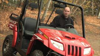 2. Dirt Trax takes a  look at Arctic Cat's Prowler XTZ