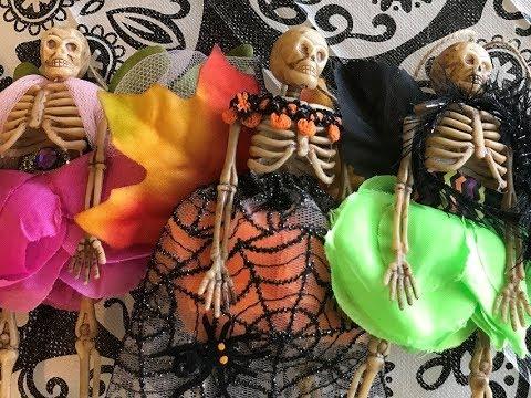 Skeleton Fairy Garland for Day of the Dead Altar! (Dia de los Muertos)