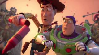 Toy Story That Time Forgot - New TV Commercial (2014) Pixar Animation TV Special HD