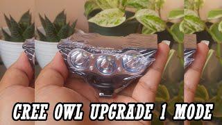 Video Review Cree OWL standar mata 3 vs Lampu utama Vario 150 vs Cree OWL UPGRADE mata 3 MP3, 3GP, MP4, WEBM, AVI, FLV September 2018