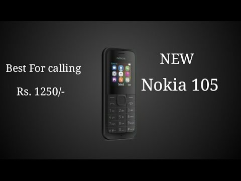 Nokia 105 basic phone specs..!