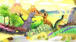 Video T Rex Squishy funny Toys. Learn Dinosaurs with stress ball Stegosaurus Learning dinosaur Toy box 공룡 MP3, 3GP, MP4, WEBM, AVI, FLV Mei 2017