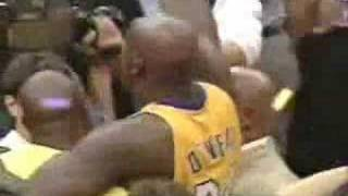 Lakers vs Pacers - 2000 game # 6 final moments