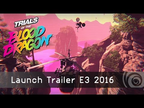 E3 Trailer: TRIALS of the BLOOD DRAGON