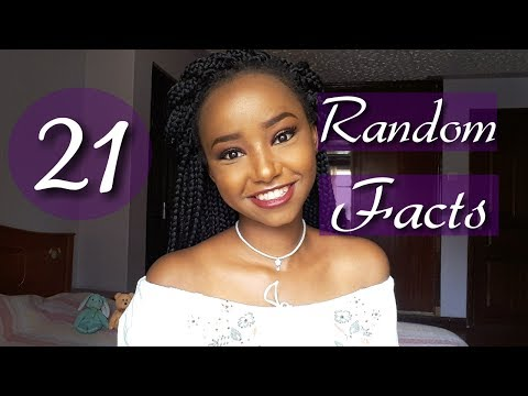 21 Random Facts About Me | Wabosha Maxine