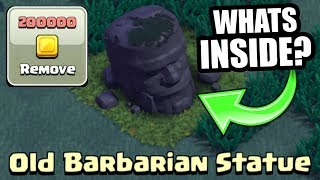 Video WHAT HAPPENS IF YOU REMOVE THE BARBARIAN STATUE IN CLASH OF CLANS BUILDERS VILLAGE!? MP3, 3GP, MP4, WEBM, AVI, FLV Juni 2017