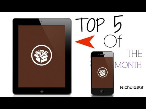 Top 5 Best Cydia Tweaks Of August 2013 Part 1