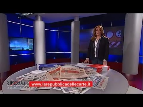 Sesta Puntata - Burocrazia La Repubblica delle Carte