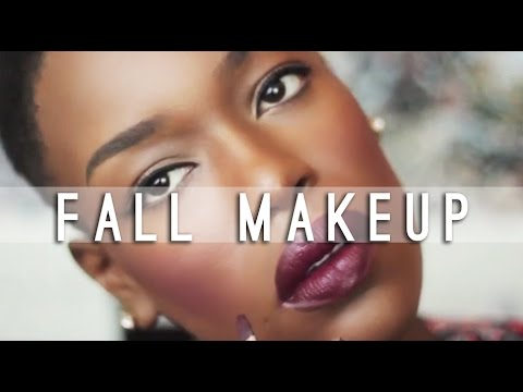 lips - Fall makeup trend. Dark lips plum cheeks. Full Face Makeup Routine Subscribe http://bit.ly/1nwS5ce Blog Post http://bit.ly/1CX4eJl Previous Video http://bit.ly/1wtiJ7w My FAVORITE Videos...