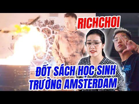 Drama Rapper Việt đốt sách vở khi quay MV, thách thức hs trường Ams - Hít Hà Drama - Thời lượng: 8 phút, 7 giây.