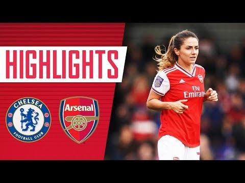 HIGHLIGHTS | Chelsea 2-1 Arsenal Women
