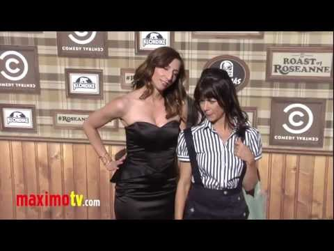 Chelsea Peretti and Natasha Leggero at Comedy Central