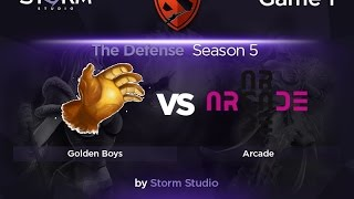Golden Boys vs Arcade, game 1
