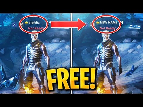 How to CHANGE your Fortnite Name on Console for FREE! PS4/XBOX! (Fortnite Name Change)