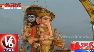 Video Khairatabad Ganesh Visarjan - Hyderabad Ganesh immersion - Teenmaar News MP3, 3GP, MP4, WEBM, AVI, FLV Februari 2019