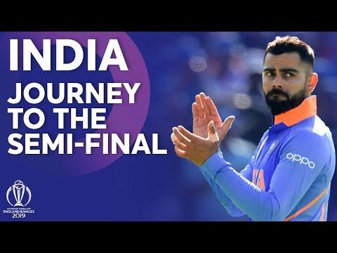 இந்தியா  உலக கிண்ணத்தை கைப்பற்றுமா?  India  Journey To The SemiFinals | ICC Cricket World Cup 2019