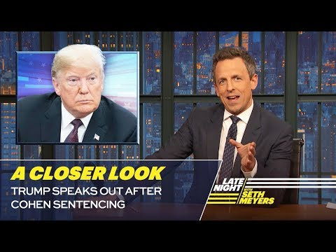 Trump Speaks Out After Cohen Sentencing: A Closer Look