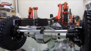 kyx rc plug hard body Toyota LC80