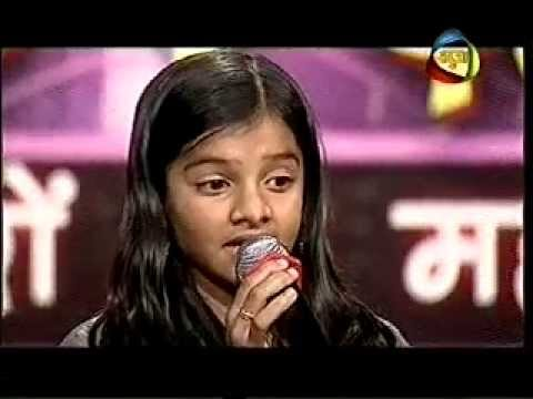 Arya Nandini Singing In Nehle Pe Dehla Mega Audition....