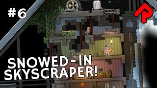 "We build an abandoned & overgrown skyscraper hit by a hurricane of snow & ice in Starbound Haunted Station ep 6! Subscribe for more Starbound: http://bit.ly/RandomiseUser  Get bonus videos on Patreon: https://www.patreon.com/randomiseuserIn this Let's Play Starbound Haunted Station series, we use the modular Starbound 1.3 space station system to build a rusty, barely functional station full of mystery, spooks and decay! Full playlist: https://www.youtube.com/watch?v=xOTP8TvAv2A&list=PLLvo6-XrH1fmlYLCtFb3ohaiOPvJoaB0I&index=1This episode of let's play Starbound Haunted Station opens another large section of the modular space station to build a skyscraper that's somehow themed around snow, ice and decay.We build the skyscraper out of concrete blocks, and pile up the snow and ice beside it, as if a nuclear winter has hit the station. We furnish the building with furniture that's increasingly broken as it gets higher up, where the skyscraper is decaying from the top down. Also in this episode of Let's Play Starbound Haunted Station, we visit a frozen planet in the Cheese Shark, we raid a Hylotl village for stuff, we build a tunnel entrance that goes precisely nowhere, we kill off the plants, we use the word incursion more than is comfortable, and we keep changing our goddamn mind...-----------------------------Thanks for watching this Let's Play Starbound Haunted Station video! More Starbound builds:Safari Park: https://www.youtube.com/watch?v=Y3w7iMpVEPc&list=PLLvo6-XrH1fnS4F_Znql40qNZw7J9A5fy&index=1Asteroid Base: https://www.youtube.com/watch?v=HjXkjHn_XSs&index=1&list=PLLvo6-XrH1fmzznPsogQA4tTjrAYQg4SPBanyan Tree: https://www.youtube.com/watch?v=XFuXGFRheps&index=1&list=PLLvo6-XrH1fkBkdnaO2acgljOHHWrlhmyToxic Lair: https://www.youtube.com/watch?v=25qpYXRQY8k&index=1&list=PLLvo6-XrH1fmn2qlotRtGr9tDEOPW_k3xVolcano Colony: https://www.youtube.com/watch?v=CdTlo7EMOVA&index=1&list=PLLvo6-XrH1fl9s4krAe0xj9qcew8OMSS9All our Starbound videos in one playlist: https://www.youtube.com/playlist?list=PLLvo6-XrH1flHOb_x1j6HTr5aWm9_5rRV-----------------------------Official Starbound gameplay description:""In Starbound, you take on the role of a character who's just fled from their home planet, only to crash-land on another. From there you'll embark on a quest to survive, discover, explore and fight your way across an infinite universe!""Starbound game version: 1.3.2 RC2Developed by: ChucklefishFormats available: PC Windows, Mac OSXOfficial Starbound game site: http://playstarbound.com/Buy Starbound download on Steam: http://store.steampowered.com/app/211820/-----------------------------Randomise User is the home of the best indie games on YouTube. Subscribe to Randomise User: http://bit.ly/RandomiseUserWatch Randomise User live: https://www.youtube.com/c/randomiseuser/liveHelp support the channel on Patreon: https://www.patreon.com/randomiseuserRead latest channel news on Twitter: https://twitter.com/RandomiseUser"