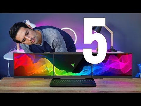 Top 5 New Tech & Gadgets of 2017!