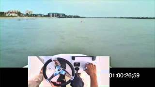 How to Do a Quick Stop in a Power Boat
