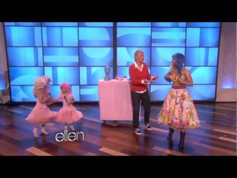 0 Big Week for Little Nicki Minaj On Ellen DeGeneres