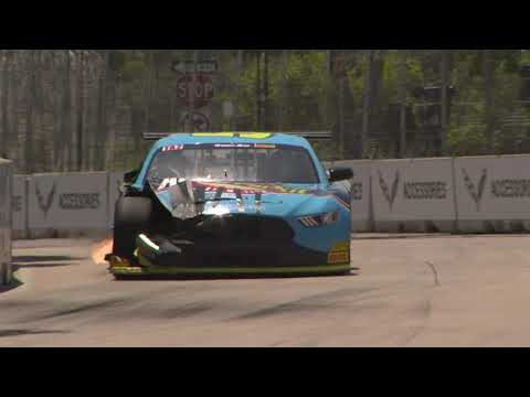 The Action from Detroit Grand Prix Trans Am Doubleheader