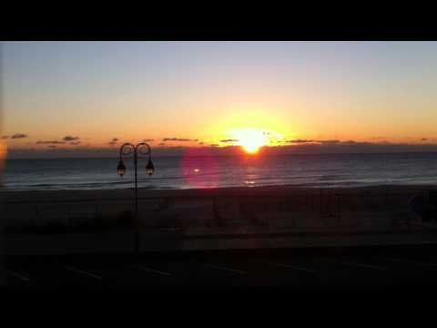 0 Belmar Beach sunrise video 