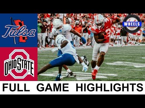 #9 Ohio State vs Tulsa Highlights | College Football Week 3 | 2021 College Football Highlights