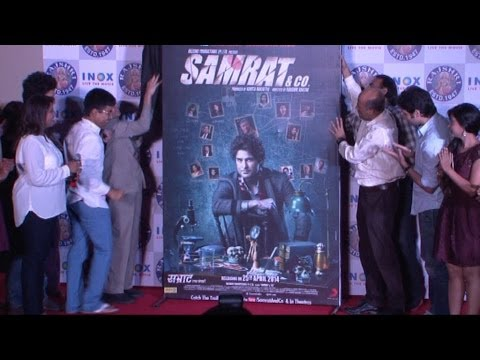 """Rajiv Khandelwal At First Look Launch Of FIlm """" Samrat & Co."""""""